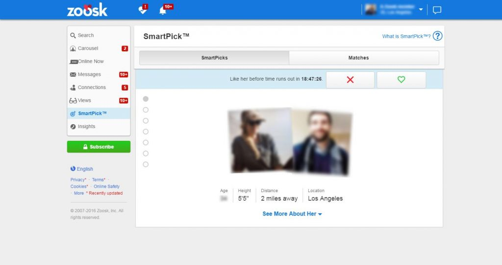 Zoosk Reviews 2020 in the UK: Costs, Ratings & Features