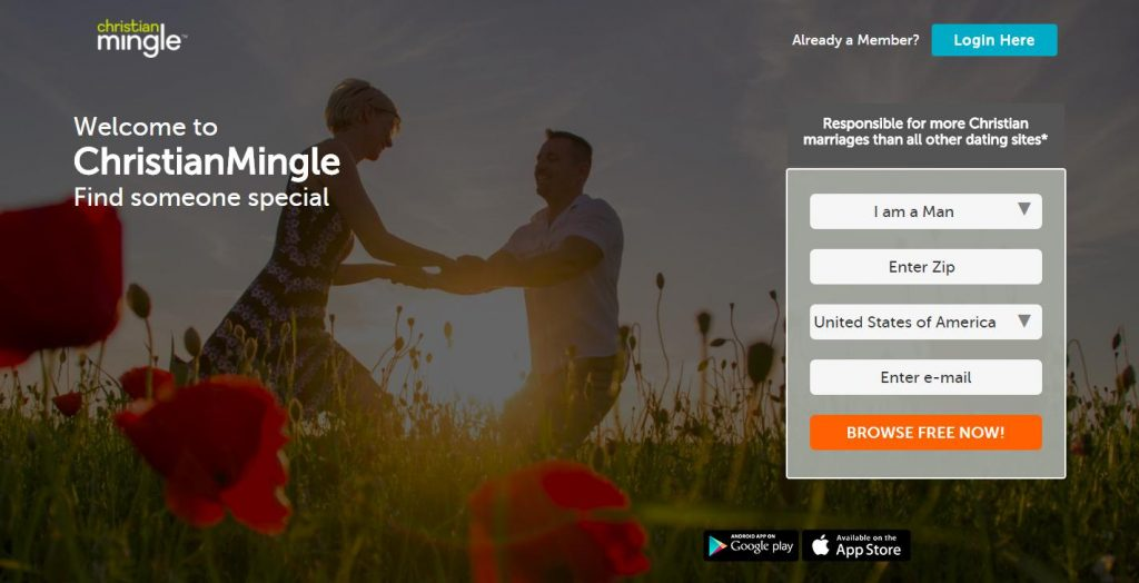 Christian mingle dating site review